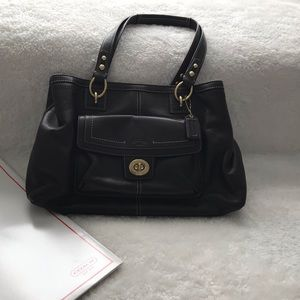 NWOT Coach Leather Bag